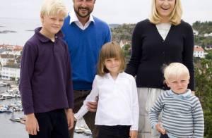 Mette-Marit et Haakon de Norvège : Leurs trois bambins... grandissent bien !