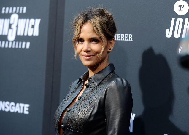 Halle Berry à la projection John Wick: Chapter 3 Parabellum dans le quartier de Hollywood à Los Angeles, le 15 mai 2019
