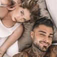 Jessica Thivenin et Thibault Garcia sur Instagram le 20 octobre 2019.