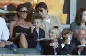 Victoria Beckham et Tom Cruise très complices... pour soutenir le malheureux David Beckham !