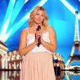 """Delphine de Raemy - """"La France a un incroyable talent 2019"""" sur M6. Le 12 novembre 2019."""
