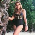 Cathy Guetta en vacances en Thaïlande. Octobre 2019.