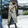 Exclusif - Madonna quitte le Centre Kabbalah dans le quartier de Manhattan à New York. La chanteuse est escortée par ses garde du corps, le 22 juin 2019.