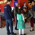 """Kate Middleton et le prince William lors de l'événement organisé par l'association """"Shout"""" pour le lancement de leur nouveau système de volontariat au théâtre """"Troubadour White City"""" à Londres, le 12 novembre 2019."""