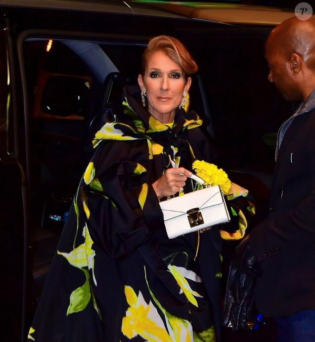 Exclusif - Céline Dion dans les rues de New York, le 12 novembre 2019.