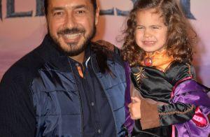 Moundir fait une rare sortie en public avec sa fille de 3 ans Aliya