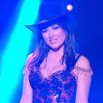 """Elsa Esnoult et Anthony Colette sur un quickstep lors du troisième prime de """"Danse avec les stars 2019"""", le 5 octobre, sur TF1"""