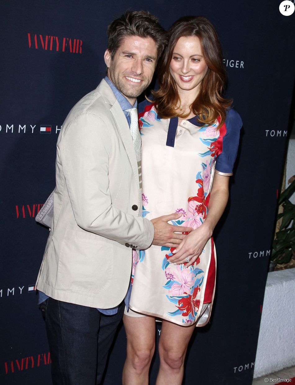 "Eva Amurri Martino et Kyle Martino - Soirée de présentation de la collection ""To Tommy from Zooey"" par Tommy Hilfiger à West Hollywood, le 9 avril 2014."