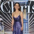 """Emilia Clarke assiste à l'avant-première du film """"Last Christmas"""" à New York, le 29 octobre 2019."""