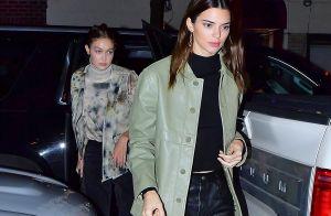 Kendall Jenner : Beauté nocturne avec Gigi Hadid