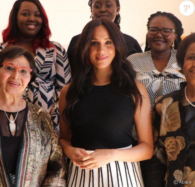 """Meghan Markle, duchesse de Sussex, lors du petit-déjeuner """"Women in Public Service"""" à Cape Town. Le 28 septembre 2019"""