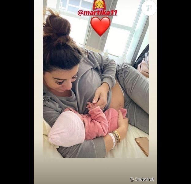Martika : Elle révèle les détails de son accouchement douloureux le 15 novembre 2019 sur Snapchat.