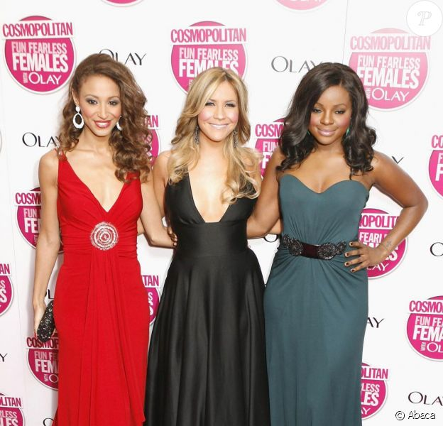 Keisha Buchanan, Heidi Range et Amelle Berrabah, les Sugababes.