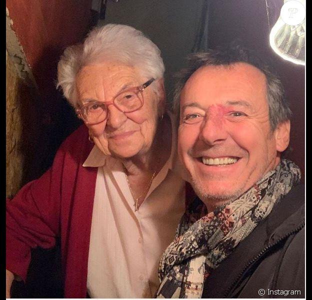 Jean-Luc Reichamnn présente sa grand-mère sur Instagram le 1er décembre 2019.