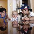 Gavin, Prince Michael et Omer/Matthew à Disneyland Paris en juillet 2000