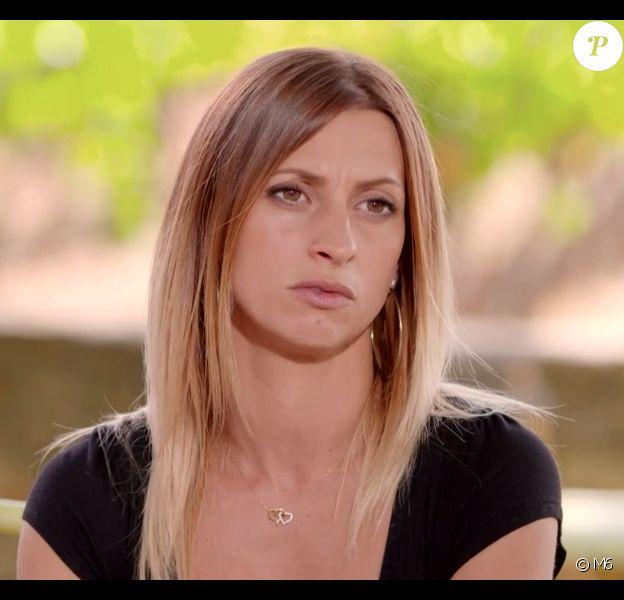 """Sandrine dans le bilan de """"L'amour est dans le pré 2019"""" sur M6. Le 9 décembre 2019."""