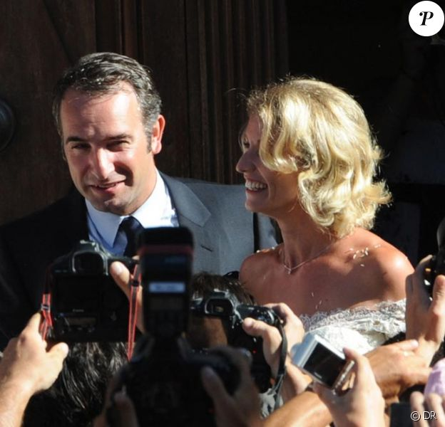 Alexandra Lamy et Jean Dujardin, Vive les mariés !!