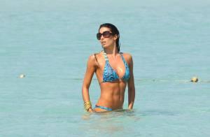 La superbe Elisabetta Gregoraci, femme de Flavio Briatore... en petite tenue sous le soleil !