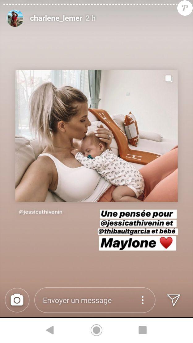 Jessica Thivenin soutenue par des candidats de télé-réalité après le drame de Maylone - 10 décembre 2019