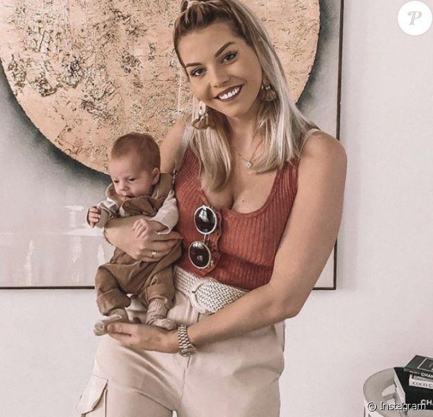 Jessica Thivenin et son fils Maylone le 14 novembre 2019 sur Instagram.