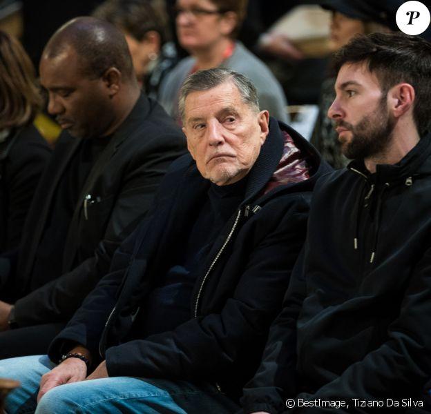 Jean-Claude Camus - Messe en hommage à Johnny Hallyday en l'église La Madeleine à Paris, deux ans après sa mort. Le 9 décembre 2019 © Tiziano Da Silva / Bestimage