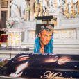 Illustration - Messe en hommage à Johnny Hallyday en l'église La Madeleine à Paris, deux ans après sa mort. Le 9 décembre 2019 © Tiziano Da Silva / Bestimage