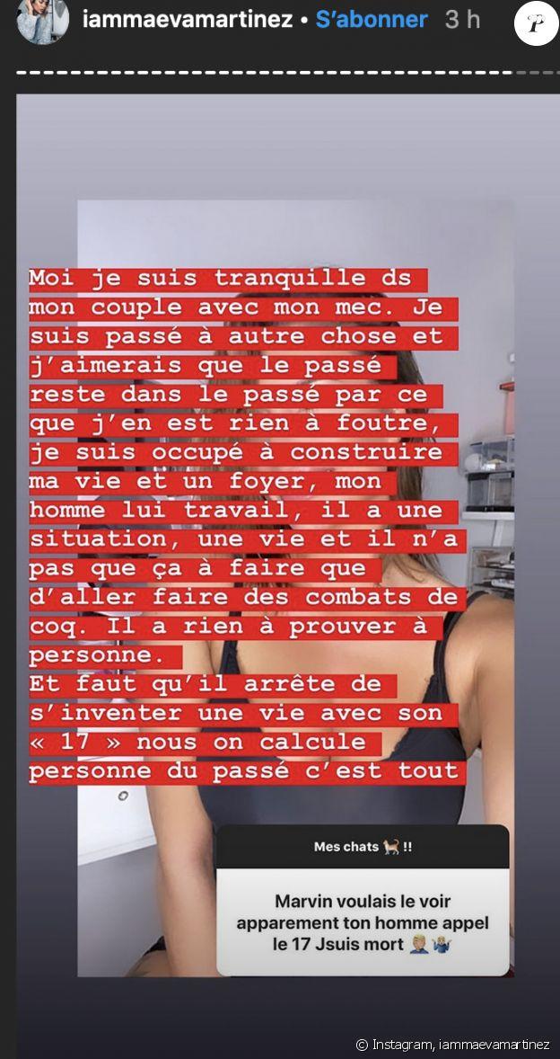 Maeva Martinez (Secret Story) se confie sur sa situation amoureuse sur Instagram - 11 décembre 2019