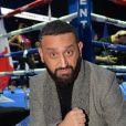 Cyril Hanouna lors du gala de boxe Univent à l'AccorHotels Arena de Paris pour le championnat du monde WBA le 15 novembre 2019. © Veeren / Bestimage