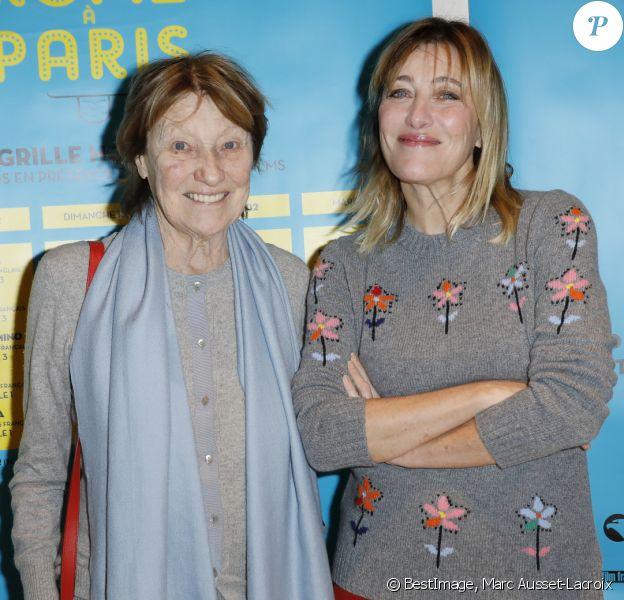 Exclusif - Marisa Borini et sa fille Valeria Bruni Tedeschi lors de l'ouverture de la 12e édition du festival De Rome à Paris au cinéma L'Arlequin, le 13 décembre 2019. © Marc Ausset-Lacroix/Bestimage