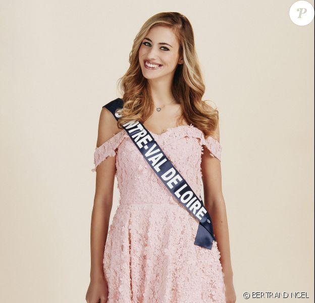 Miss Centre-Val de Loire : Jade Simon-Abadie, 22 ans, 1,73 m, actuellement en Master 2 communication des entreprises et des institutions.