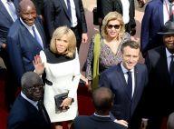 Brigitte Macron à Abidjan : looks épurés et joli déhanché sur Magic System