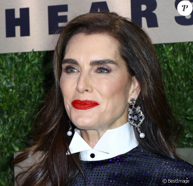 "Brooke Shields à la soirée ""An Evening Honoring Leonard A. Lauder"" au Lincoln Center à New York, le 18 novembre 2019."