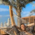 Tarek Boudali en mode repos à Dubaï, décembre 2019.