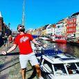 """Matthieu de """"Mariés au premier regard"""" à Copenhague, le 25 août 2019"""
