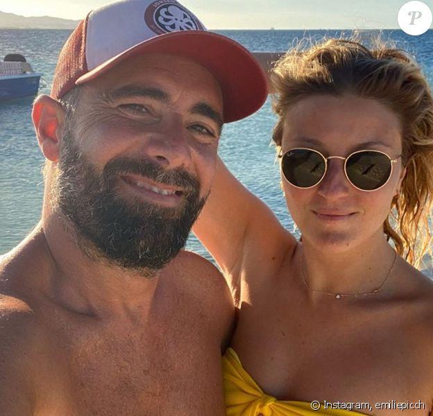 Emilie Picch et son fiancé en Guadeloupe, le 5 janvier 2020