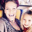 Pink et sa fille Willow. Photo postée sur Twitter, le 25 décembre 2015.