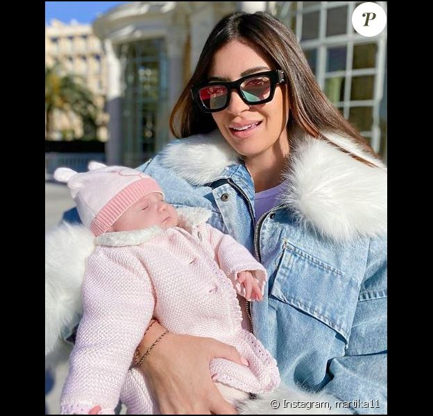 Martika et sa fille Mia sur Instagram le 9 janvier 2020.