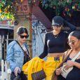 Christina Milian enceinte a déjeuné avec son amie Nicole Williams au restaurant Ivy à los Angeles le 14 janvier 2020.