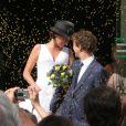 Renan Luce et Lolita se sont mariés le 31 juillet 2009 à la mairie du XIVe à 16h sous les yeux de leurs amis et de Romane et Renaud.