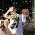 Renan Luce et Lolita se sont mariés à la mairie du XIVe à 16h le 31 juillet 2009 sous les yeux de leurs amis et de Romane et Renaud.