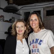 Laure Manaudou et Valérie Trierweiler complices pour un défi sportif