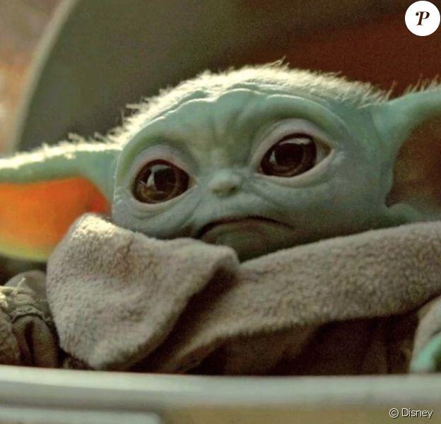"Baby Yoda, dans la série Disney+ ""The Mandalorian""."