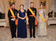Stéphanie de Luxembourg : première apparition enceinte de la princesse, radieuse