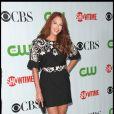 Amanda Righetti, de The Mentalist, assiste à la soirée CBS/CW/Showtime