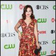 Sophia Bush, des frères Scott, assiste à la soirée CBS/CW/Showtime, à  Pasadena, en Californie