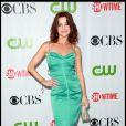 Laura Leighton, de Melrose Place, assiste à la soirée CBS/CW/Showtime, à  Pasadena, en Californie
