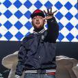 Le rappeur Mac Miller en concert au festival de Bamboozle à Asbury Park dans le New Jersey le 18 mai 2012.
