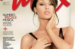 Quand la superbe Anna Tatangelo se dévoile... c'est vraiment très charmant !