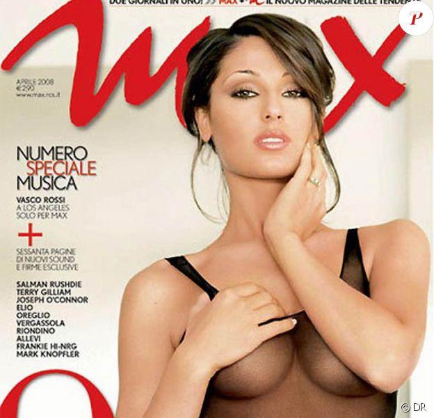La très belle Anna Tatangelo en couverture de Vanity Fair !