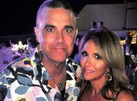 Hélène Ségara partage une belle soirée avec Robbie Williams